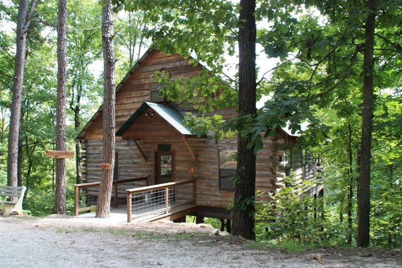 Missouri Treehouse Cabin Family Vacation