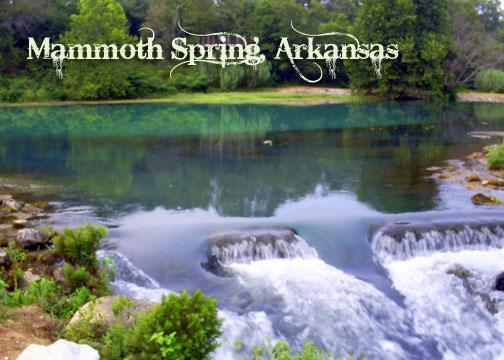 Mammoth Spring Arkansas