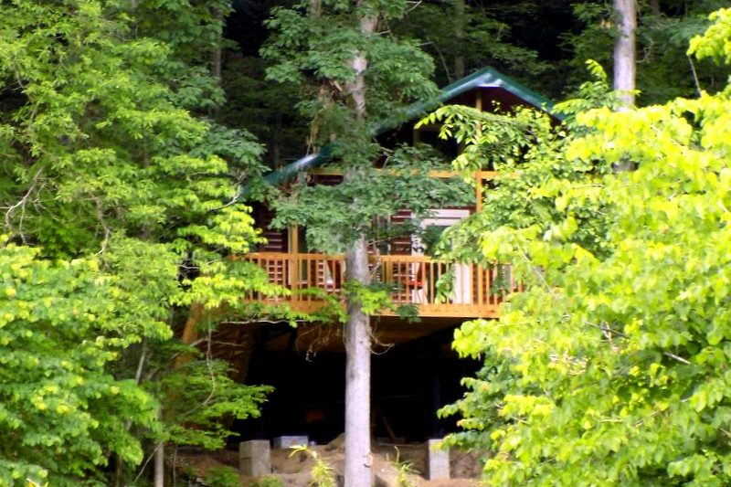 Missouri Romantic Tree House Cabin White Oak