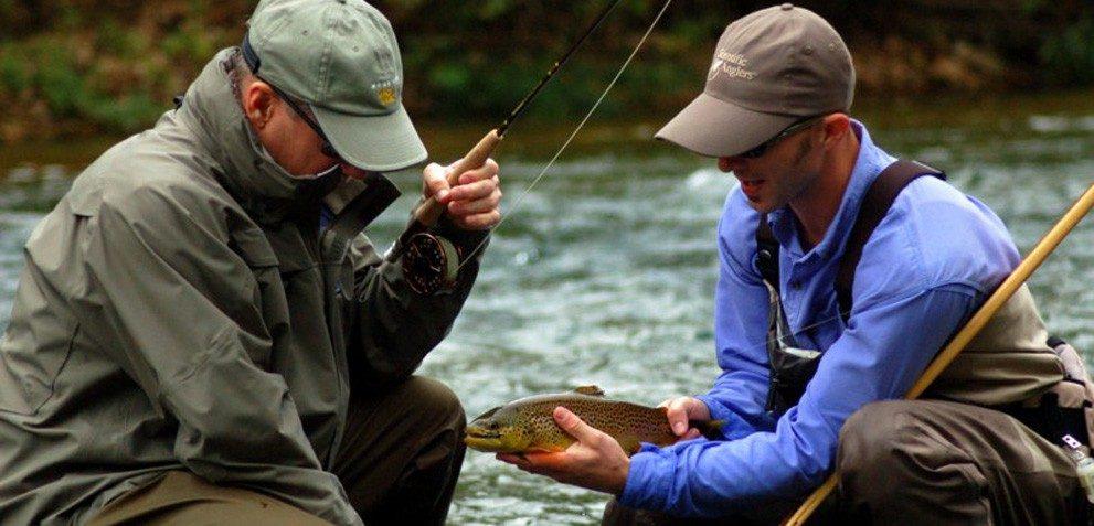 Missouri flyfishing North Fork River