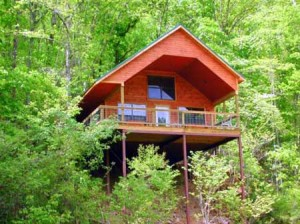 Missouri Romantic Honeymoon Treehouse Cabin