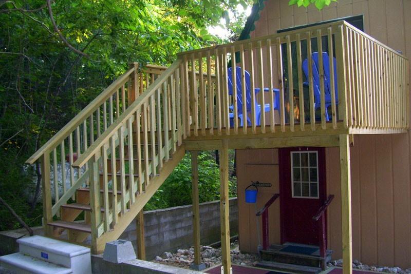 Chalet Missouri Treehouse Cabin Family Vacation