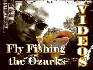 fly fishing the Ozarks