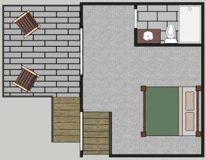 CLIFF HOUSE guest suite 1.24.17