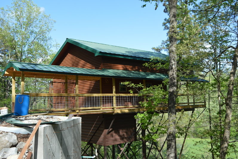 Missouri Family Vacation Treehouse Cabin Rio Vista