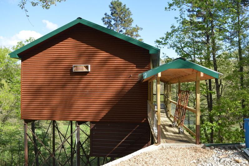 Missouri Family Vacation Treehouse Cabin Rio Vista