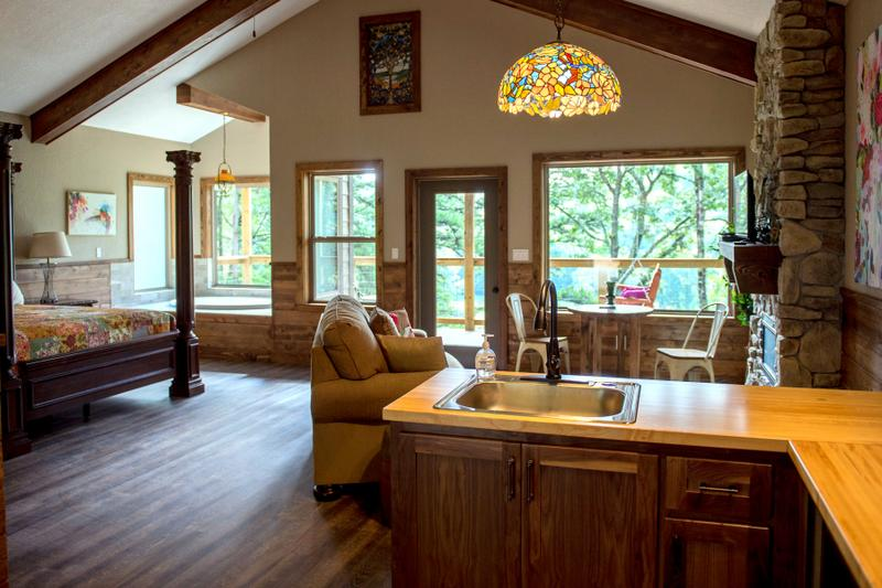 River Rose Treehouse Cabin