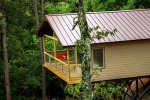 River Rose Cabin Treehouse Cabin