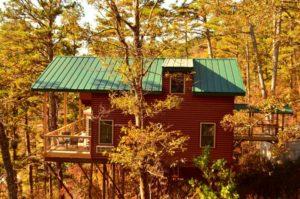 Wisteria Treehouse Cabin
