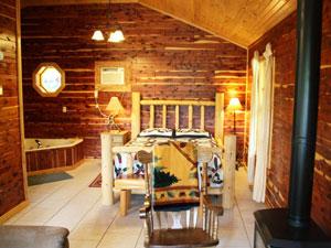 Missouri romantic vacation Whispering Pine