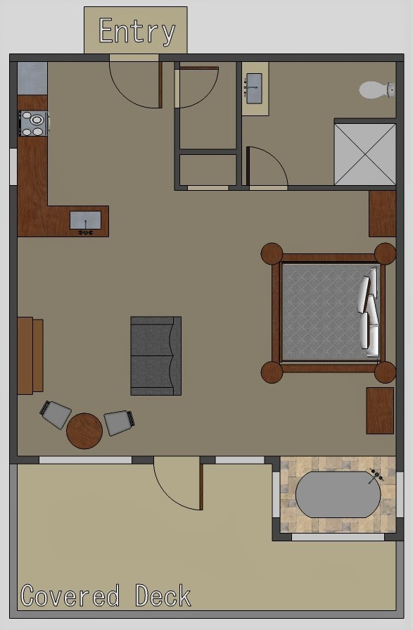 River Falls Floor plan
