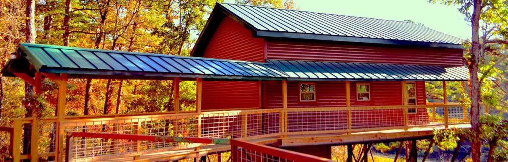 Missouri family vacation cabin