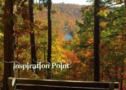 Ozark Hiking Inspiration Point